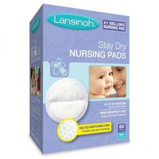 WTS: BNIB LANSINOH Nursing Pads 60 Counts