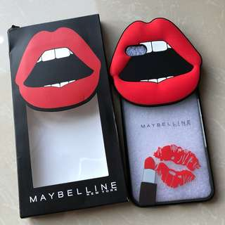 IPHONE 6/6s Maybelline Soft Case 👄