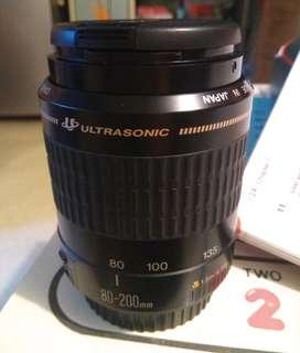 canon AF80-200mm鏡