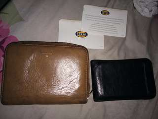 Fossil Wallet& Cards Holder