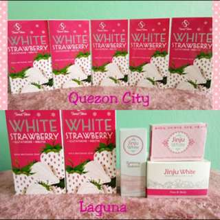 Jinju White Strawberry Soap