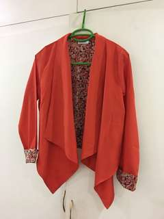 Folded & Hung Tangerine Outer