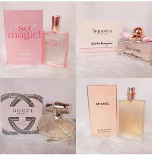 100% Authentic USA Tester Perfumes