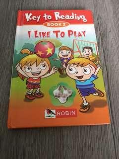 I like to play book