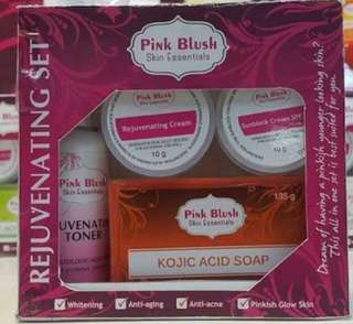 Pinkiss white bluss rejuvenating set