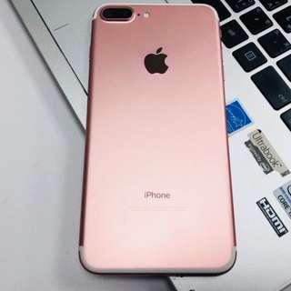 🚚 iphone7plus 128g玫瑰金