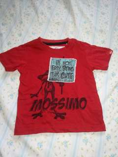 Baby mossimo red shirt