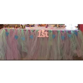 Baby Party Tutu Skirting