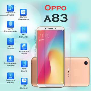 Oppo A83 Premium HD 9H Tempered Glass Screen Protector