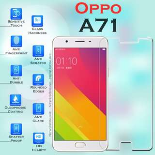 OPPO A71 Premium Tempered Glass 9H Screen Protector HD Clear