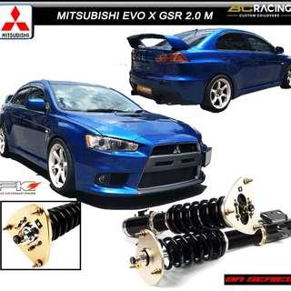 MITSUBISHI EVO X GSR 2.0 M - BC RACING COILOVER