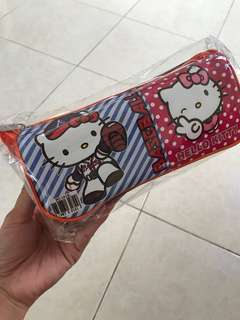 Pouch Hello kitty purple n pink NEW
