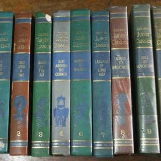 1962 Colier's Junior Classics 9 volumes