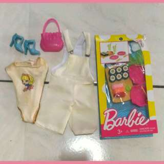 Barbie accessories lot!