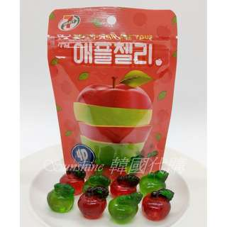 🚚 現貨 韓國 7-11 限定 4D 造型 蘋果 軟糖 64g