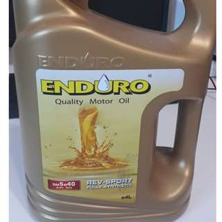 FULLY SYNTHETIC ENDURO Engine Oil 5W40 (4L)