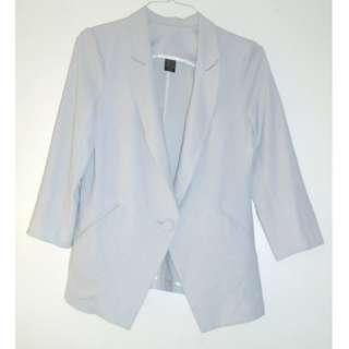 Charity Sale! Flowy Soft Grey Women's Size Large Blazer