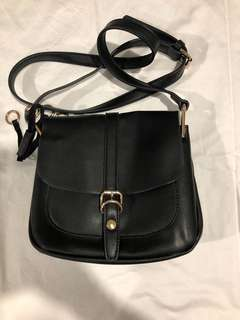 Black Colette Cross Body Bag