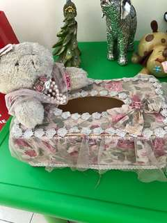 Tempat tisu Teddy bear