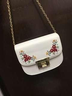 刺繡包 斜揹袋 日本