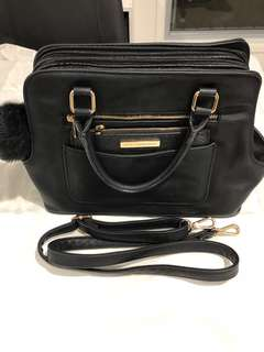Black Colette Tote Bag