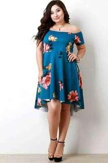 Plus size dress freesize L to XXL