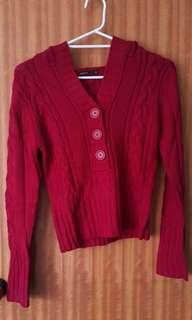 Red Pagani Sweater