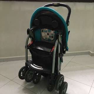 LATIDO Foldable Baby Stroller