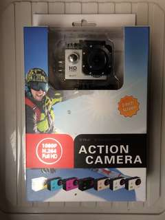 1080P HD Action Camera Waterproof