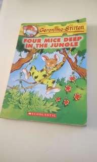 Geronimo Stilton 'Four Mice Deep in the Jungle'