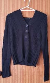 Black Pagani Sweater