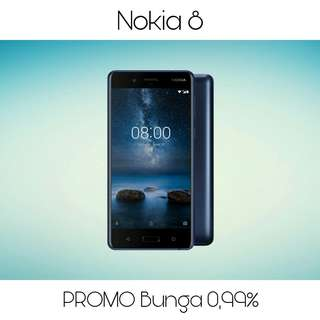 Kredit Nokia 8, Tanpa Kartu Kredit