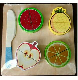 Wooden Cutting Vegestable & Fruits