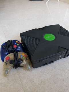 First Generation XBOX Console.