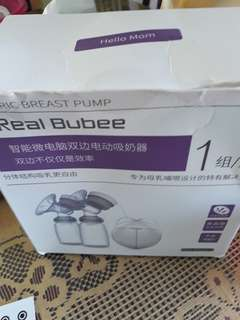 Electric breast double pump