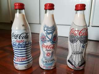 Limited Edition Coca-Cola Glass Bottles