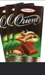 Tayas orient chocolate