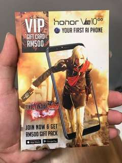 Final Fantasy Awakening VIP Voucher
