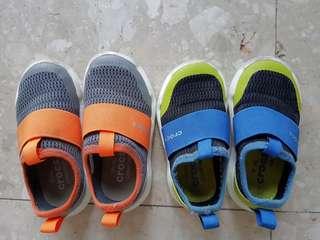 Preloved toddler shoes - crocs