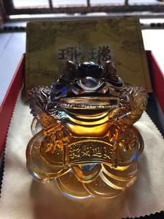 Highest grade gu fa Liu Li wealth toad !