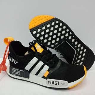 Adidas NMD R1 Primeknit x Off White 'NAST'