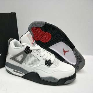 Nike Air Jordan 4 'White Cement'