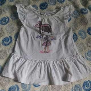 Cuddle Bear white Dress
