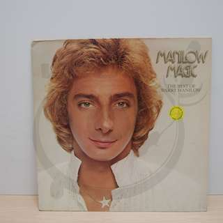 黑膠唱片LP, Barry Manilow, Manilow Magic The Best Of Barry Manilow