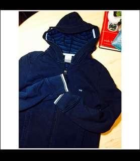 Nike Navy blue Jacket Sport coat 名牌 Nike 運動 外套 風褸