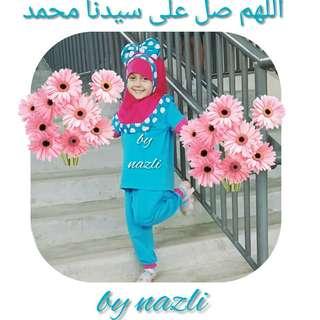 Minnie Mouse Hijab girl & baby