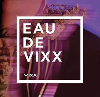 VIXX 3rd Album - EAU DE VIXX
