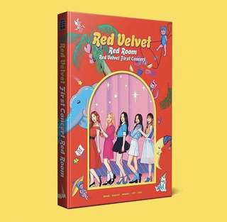 [PHOTOBOOK] RED VELVET FIRST CONCERT RED ROOM