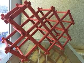 Used 2 x Wine Racks (Foldable) For Sale
