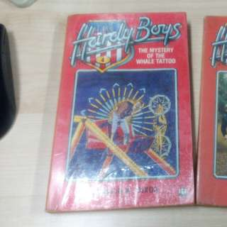 Hardy boys buku lama 2 buah